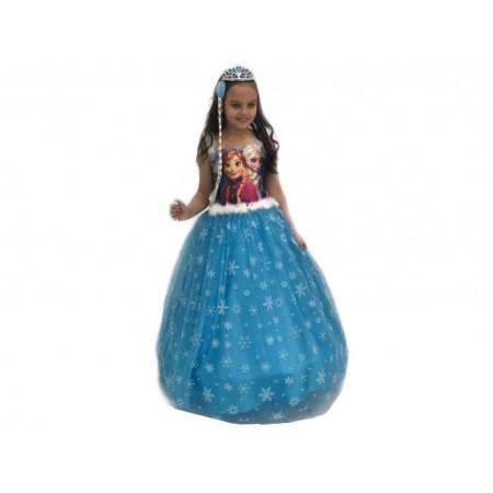 Elsa Resimli Gelinlik