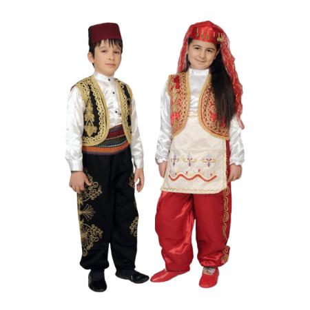 Türkmen İşlemeli Erkek Osmanlı Kostümü