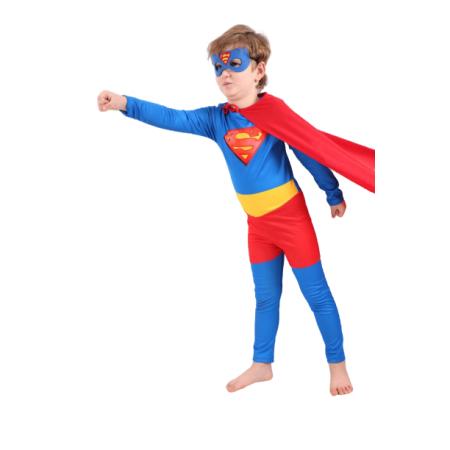 Pijamaskeliler Süpermen Çocuk Kostümü