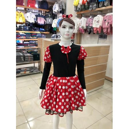Mini Fare Kostümü (Mickey)