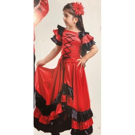 Romen Çocuk Dans Kıyafeti