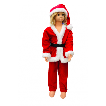 Noel Baba Çocuk Kostüm