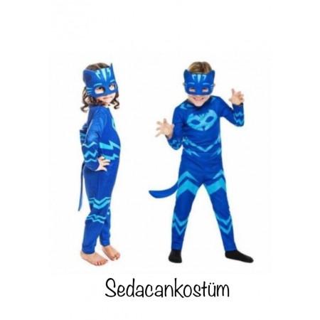 Pijamaskeliler Kedi Çocuk Kostümü